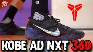 58b8c2ee37df Nike Flyknit Kobe AD NXT 360 Performance Review! Best Ball Shoe of All Time