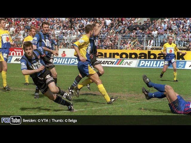 1995-1996 - Beker Van België - 04. Halve Finale - Club Brugge - Sint-Truiden 3-1