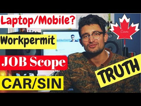 Students Q&A | Laptop/MOBILE CAR SIN JOBSCOPE WORKPERMIT CANADA