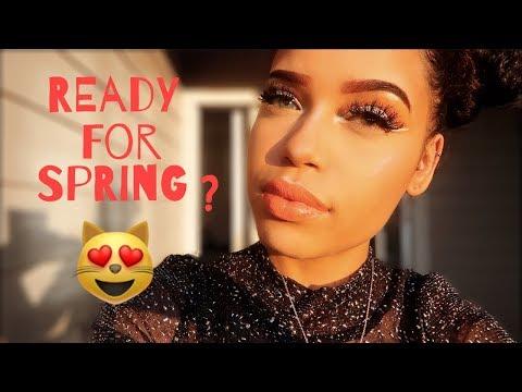 SPRING BLING (makeup tutorial 2018) | Vanessa Lynn