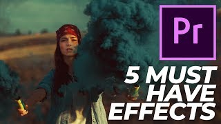 Premiere Pro Effects   Top 5 Must Have