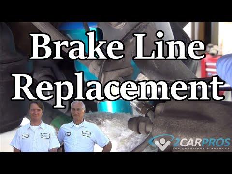 brake flex hose replacement toyota tacoma 2004-2015