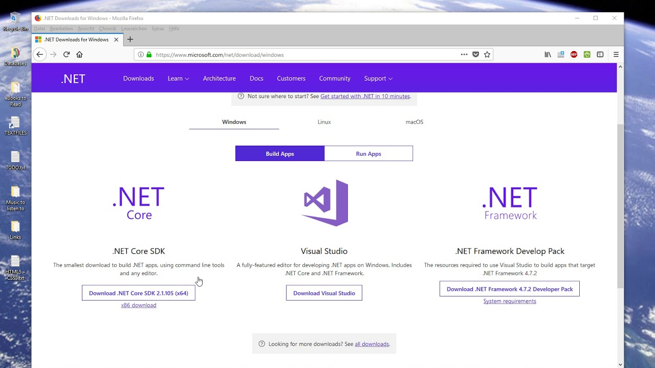 ASP.NET Core with Visual Studio 2015 (Template missing) on