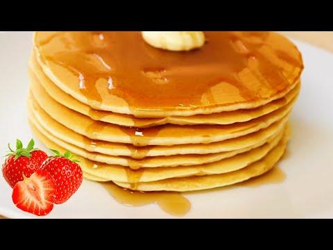 Ricos y fácil receta de Hot cakes, Pancakes o Tortitas Americanas ı RECETA FÁCIL Y DELICIOSA