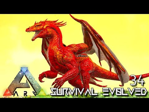ARK: SURVIVAL EVOLVED - HUNGRY DRAGON & PRIMAL DINOS E34 !!! ( PRIMAL FEAR PYRIA )
