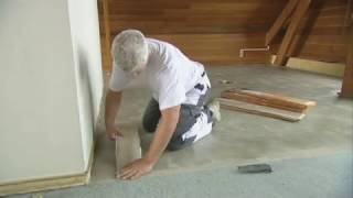 How To Install 'flexo' Self Adhesive Vinyl Plank Flooring