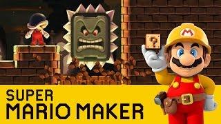 Super Mario Maker - Brick Breaking