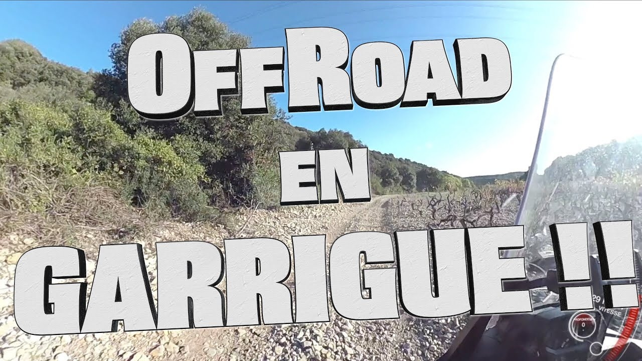 🌋Roulage en Garrigue ! | LOa OffRoad | Africa Twin DCT