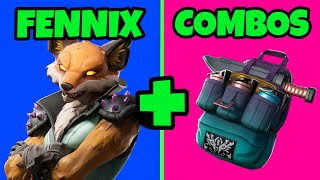 🦊 SKIN FENNIX COMBOS SKIN FOX FORTNITE NEW SKIN RARE BEST SKINS COMBOS FORTNITE SEASON X