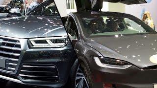 2017 Tesla Model X vs. 2017 Audi Q5