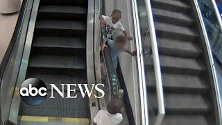 Details of tragic escalator accident emerge after mom's arrest