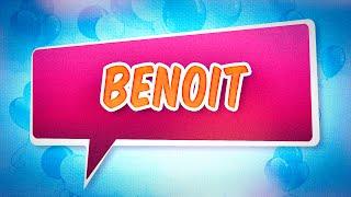 Joyeux anniversaire Benoit