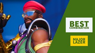 Best Combos | Major Lazer | Fortnite Skin Review