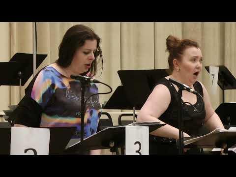 Opera Rara - Semiramide - Recording Session with Albina Shagimuratova & Daniela Barcellona (Duet 1)