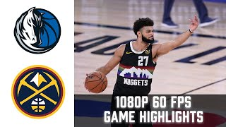 Mavericks vs Nuggets HIGHLIGHTS Full 1080p 60fps | NBA January 7th 2021