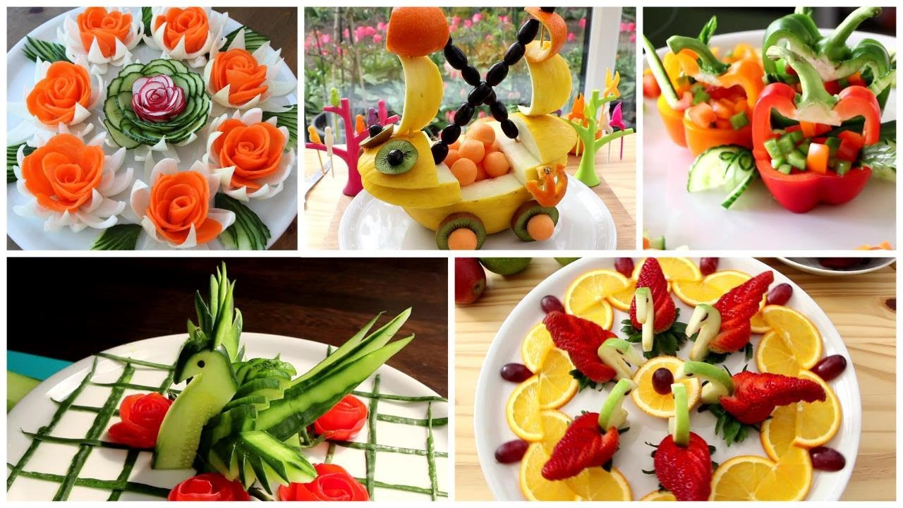 5 Super Fruits & Vegetable Decoration Ideas