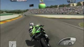 SBK-09: Superbike World Championship gameplay