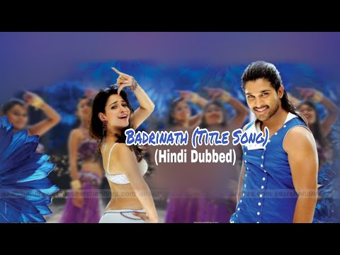 Sangharsh Aur Vijay (Badrinath) Allu Arjun Title Song Hindi Dubbed