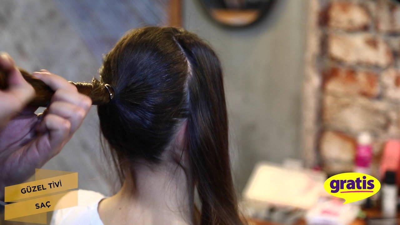 Düğümlü Topuz Saç Modeli Nasıl Yapılır