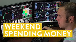 [LIVE] Day Trading   How I Make Spending Money for the Weekend (learn to trade!)