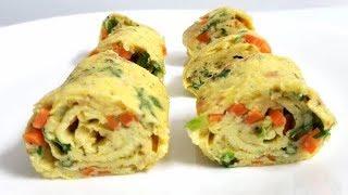 Egg Roll | Breakfast quick egg roll recipe | Breakfast egg roll recipe by Easy Cooking With Shazia
