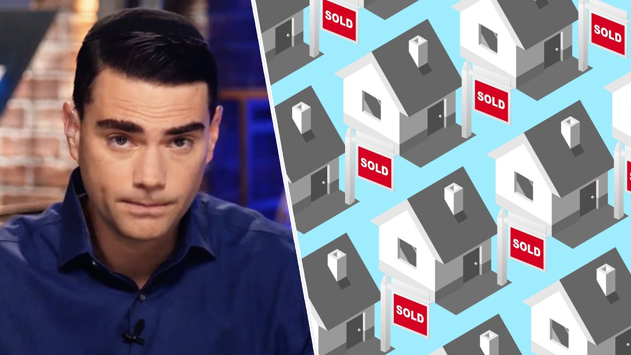 """""""Angry At The Wrong People"""" — Shapiro On Corporations Buying Up Houses"""