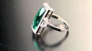 Серебряное кольцо с наноизумрудом(, 2012-04-05T20:36:11.000Z)