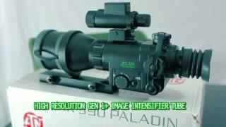 atn mk390 paladin night vision scope 4x magnification