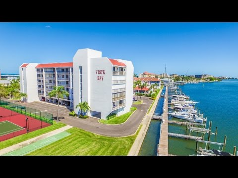 19111 Vista Bay Dr, #411, Indian Shores Waterfront Realtor Tour Condo w Boat Slip Video Duncan Duo
