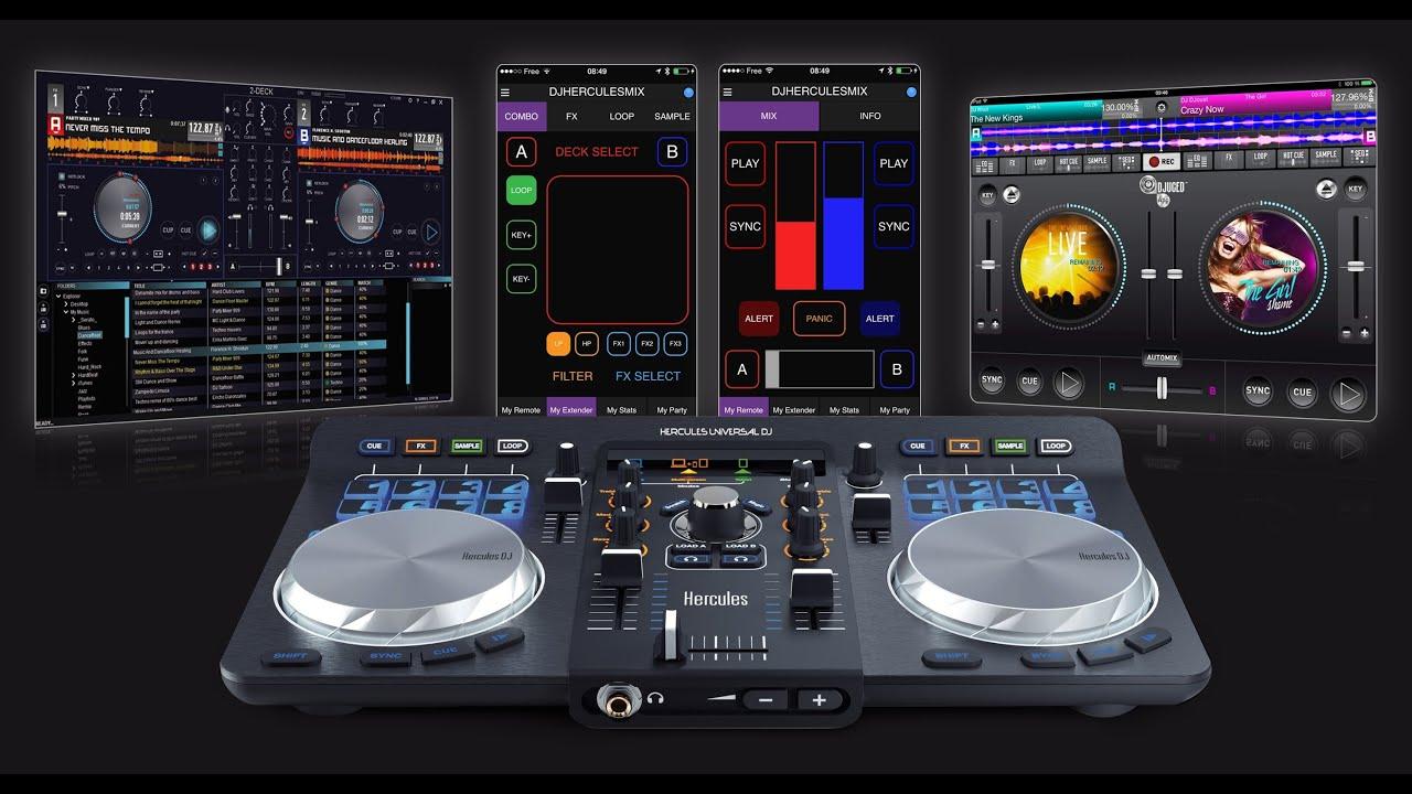 Hercules universal dj wireless controller jb hi fi youtube for 1234 get on the dance floor dj mix