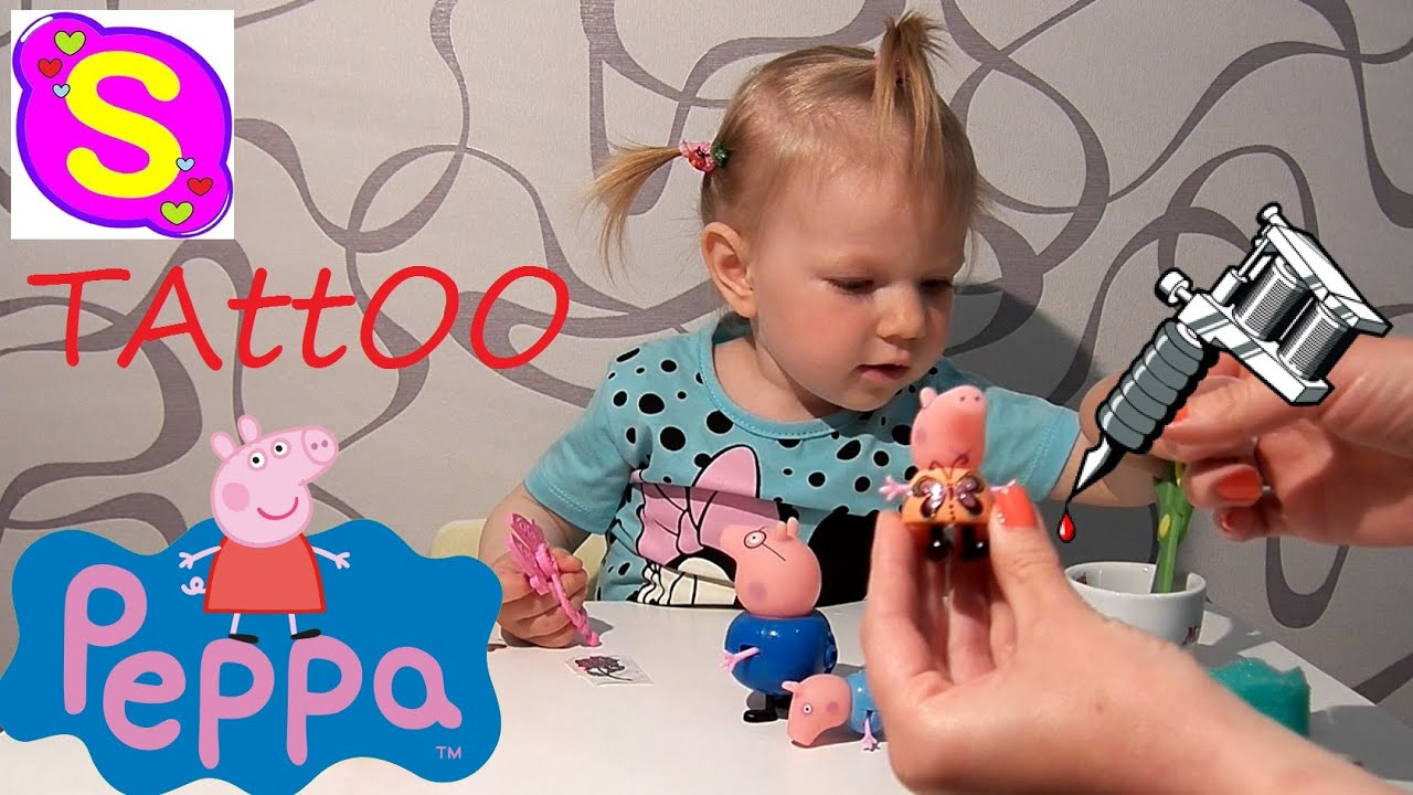 Peppa pig makes tattoo new episode for Peppa pig tattoo