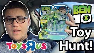Ben 10 Toy Hunt Vlog!