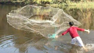 Рыбалка на кастинговую сеть