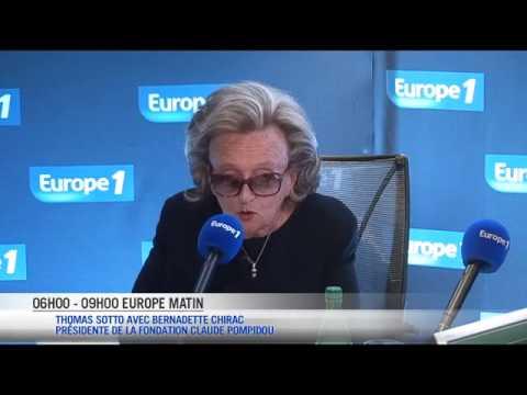 """Bernadette Chirac : """"Je pense que Valérie Trierweiler est triste"""""""