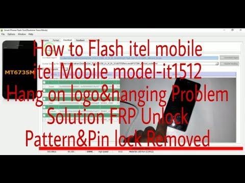 itel Mobile Flashing Model-it1512 hanging Problem solution