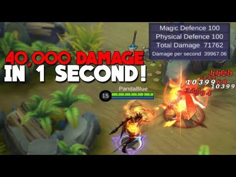 NEW DAMAGE CHALLENGE!   WORLD RECORD   Mobile Legends
