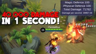 NEW DAMAGE CHALLENGE! | WORLD RECORD | Mobile Legends
