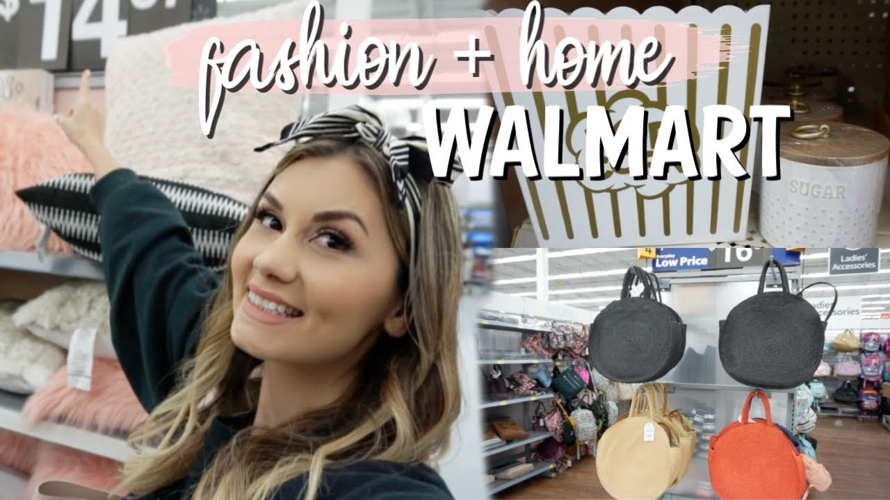 [VIDEO] - WALMART SHOP WITH ME 2019 | SPRING FASHION & HOME DECOR! 4