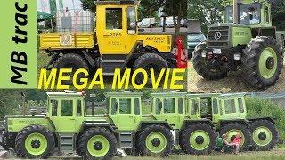 MB trac MEGA MOVIE 700, 900, 1000, 1300, 1500, 1600, 1800 Treffen - 25 Jahre Unimog-Club Gaggenau
