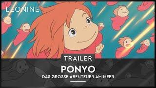 Video Ponyo - Das große Abenteuer am Meer - Trailer (deutsch/german) download MP3, 3GP, MP4, WEBM, AVI, FLV November 2018