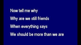 SD4205 05   98 Degrees   Why Are We Still Friends Karake