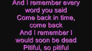 Blindside - Pitiful lyrics