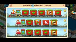 ТАУНШИП город и ферма #558  Знакомство с моим городом  Игровое видео