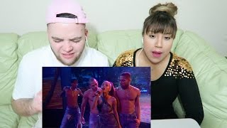 Ariana Grande - Side To Side (Live From The 2016 American Music Awards) ft. Nicki Minaj REACTION