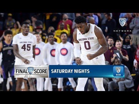 Highlights: Red-hot shooting performance lifts Arizona State men's basketball past Washington