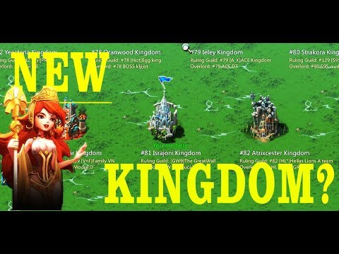 Time For New Kingdom???
