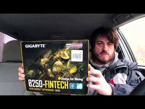 12 GPU Mining Mobo - $149 @ MicroCenter - B250 FinTech Motherboard By Gigabyte