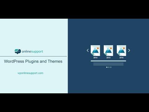 Timeline and History slider – WordPress plugin   WordPress org