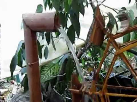 """dekorasi taman """"kincir air"""" di gunung sulah bandarlampung"""