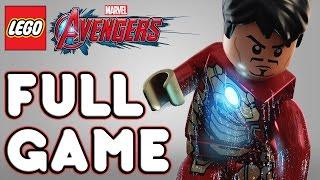 Lego Marvel Avengers Full Game Walkthrough Gameplay [1080p 60FPS HD] Completed